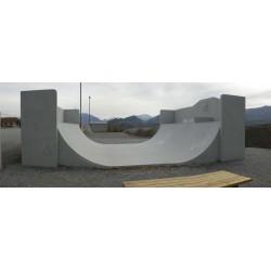 Skatepark La Bâtie neuve