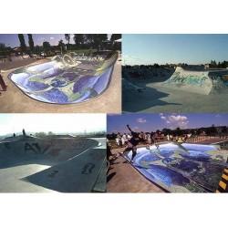 Skatepark Bowl de Salaise sur Sanne