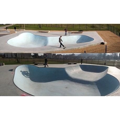 Skatepark Bowl Bourgoin-Jallieu