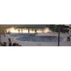 Skatepark Lyon - Bowls - Berges