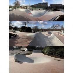 Skatepark Bowl de la Muette